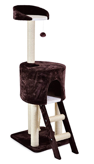 Ancol Acticat Tree House Scratch Post