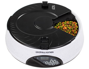 Andrew James 6 Meal Automatic Pet Feeder
