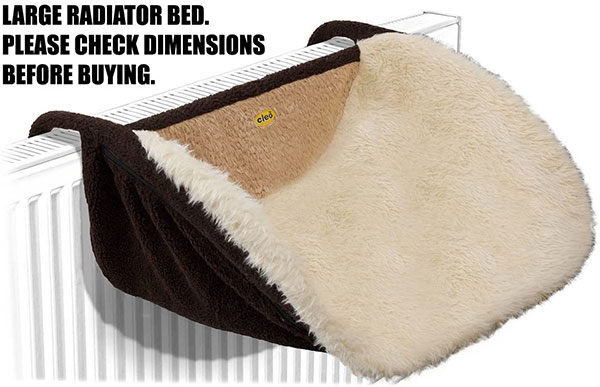 Cleo Deluxe Large Radiator Cat Bed