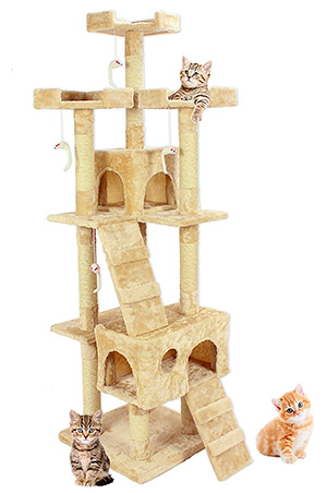 Cozy Pet Multi-Level Cat Tree