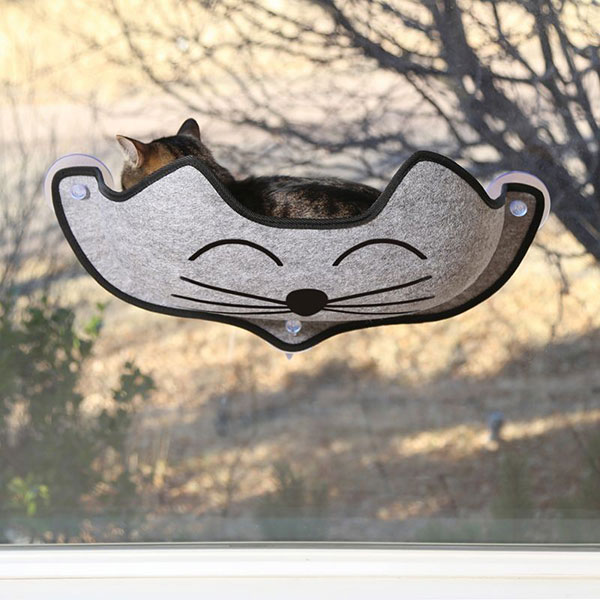 EZ Mount KittyFace Window Cat Bed