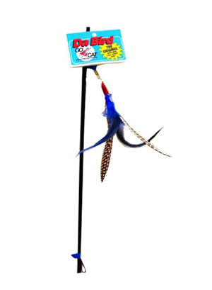 GoCat Da-Bird Feather Cat Toy