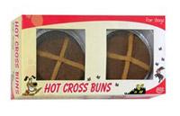 Hot Cross Bun Dog