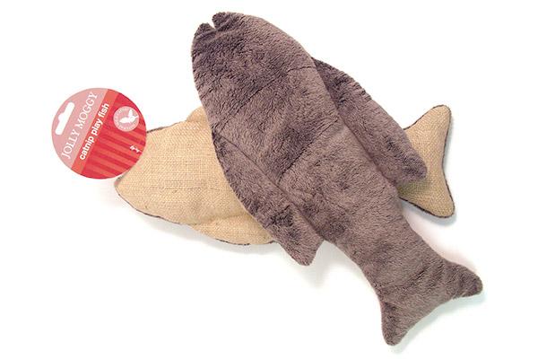 Jolly Moggy Catnip Play Fish