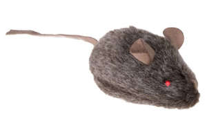 Mouse Cat Toy with Sounds and LEDs