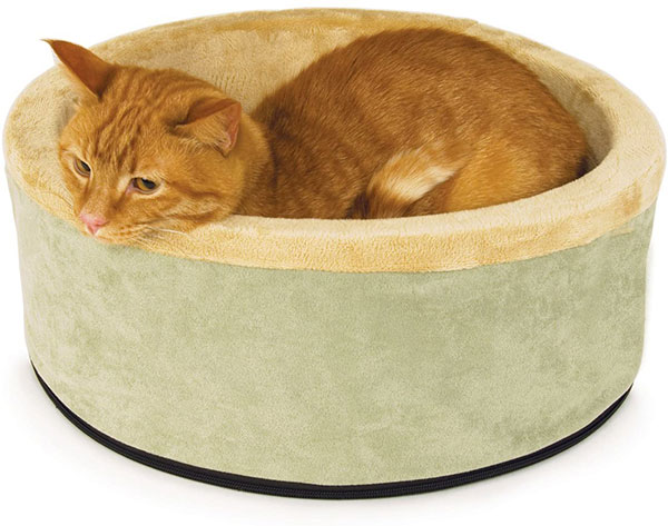 Rosewood Thermo Kitty Heated Cat Bed