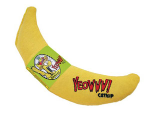 Yeowww Banana Catnip Cat Toy