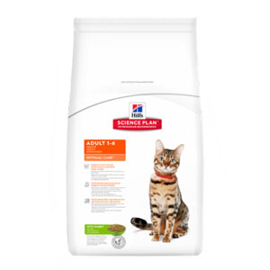 Cheap Hill's Science Plan Feline Adult Optimal Care Rabbit 10kg