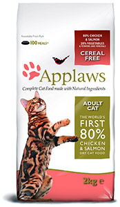 Cheap Applaws Adult Dry Cat Food Chicken & Salmon 400g