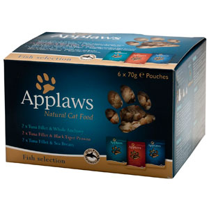 Cheap Applaws Fish Selection Pack Pouch 6 x 70g