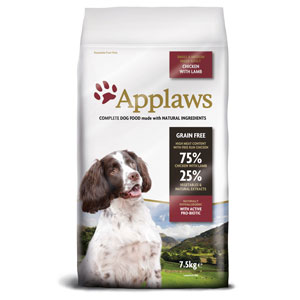 Cheap Applaws Small/Medium Breed Adult Dog Chicken & Lamb 7.5kg