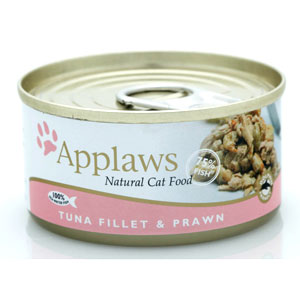 Cheap Applaws Tuna Fillet with Prawn Tin 24 x 70g