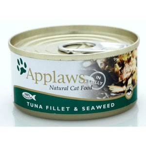 Cheap Applaws Tuna Fillet with Seaweed Tin 24 x 70g