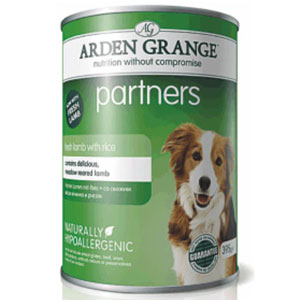 Cheap Arden Grange Partners Lamb, Rice & Vegetables 6 x 395g