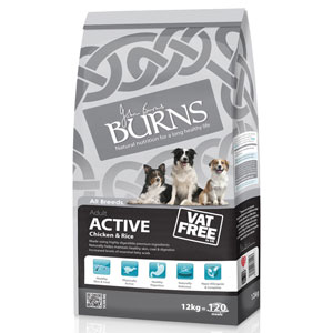 Cheap Burns Adult Active Chicken & Rice 12kg