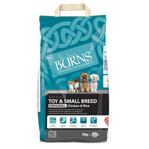 Cheap Burns Adult & Senior Toy & Small Breed Original Chicken & Rice 2kg