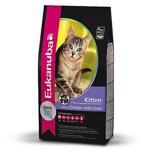 Cheap Eukanuba Kitten Chicken & Liver 2kg