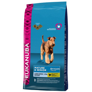 Cheap Eukanuba Large Breed Mature & Senior Dog Chicken 3kg