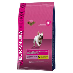 Cheap Eukanuba Small Breed Adult Dog Weight Control 3kg
