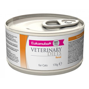 Cheap Eukanuba Veterinary Diets Renal for Cats 12 x 170g