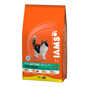 Cheap Iams ProActive Health Adult Hairball 300g