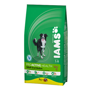 Cheap Iams ProActive Health Adult Small & Medium Breed 3kg