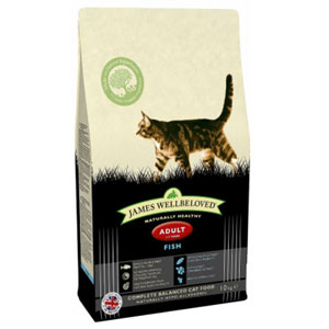 Cheap James Wellbeloved Adult Cat Fish 4kg