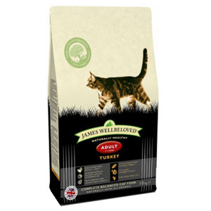 Cheap James Wellbeloved Adult Cat Turkey 1.5kg