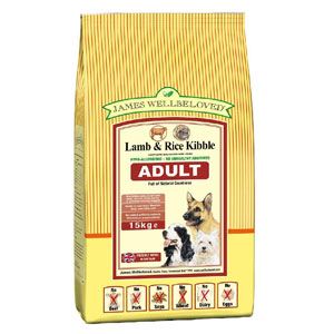 Cheap James Wellbeloved Adult Dog Lamb & Rice 2kg