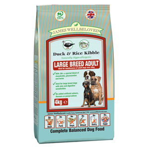 Cheap James Wellbeloved Adult Large Breed Dog Duck & Rice 15kg
