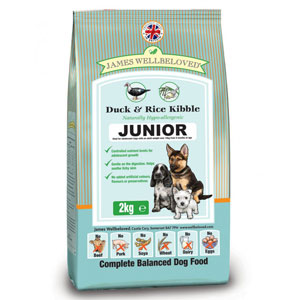 Cheap James Wellbeloved Junior Dog Duck & Rice 15kg