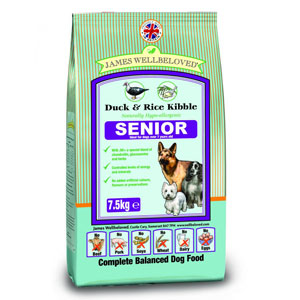 Cheap James Wellbeloved Senior Dog Duck
