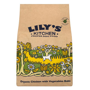 Cheap Lily's Kitchen Organic Chicken & Vegetable Bake 1kg