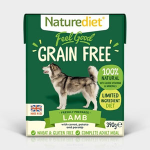 Cheap Naturediet Feel Good Grain Free Lamb with Vegetables 18 x 390g