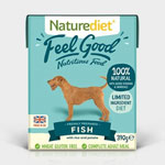 Naturediet Feel Good Fish with Rice & Potato 18 x 390g