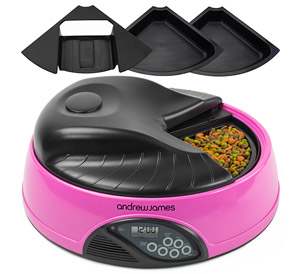 Andrew James 4 Meal Automatic Pet Feeder