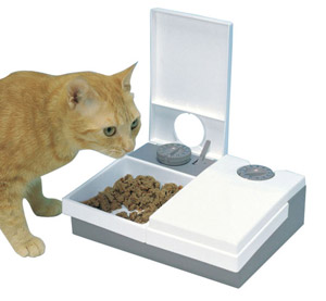 Pet Supplies Cat Biscuit Feeder