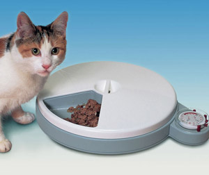 Cat Mate C50 5 Meal Automatic Feeder