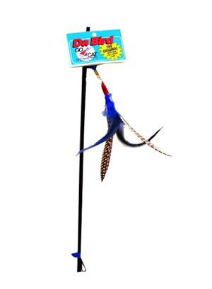 GoCat Da-Bird Feather Cat Toy