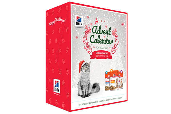 Hills Science Plan Christmas Advent Calendar Cats