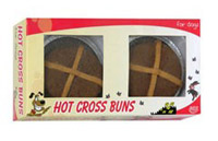 Hot Cross Bun Dog
