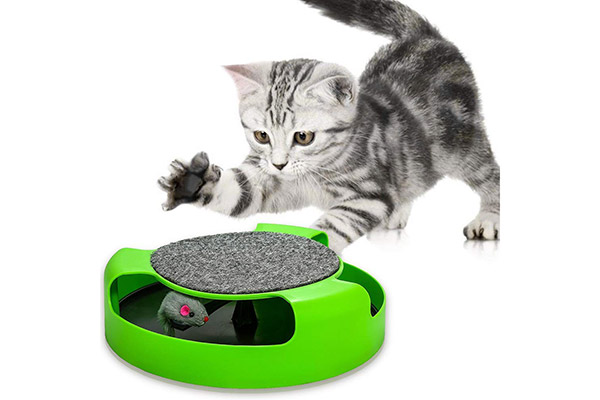Rotating Mouse Cat Toy