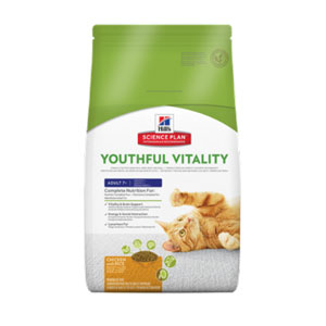 Cheap Hill's Science Plan Feline Adult 7+ Youthful Vitality Chicken with Rice 1.5kg