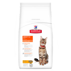 Cheap Hill's Science Plan Feline Adult Optimal Care Chicken 10kg