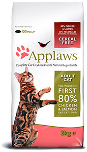 Cheap Applaws Adult Dry Cat Food Chicken & Salmon 2kg