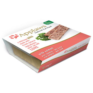 Cheap Applaws Cat Pate Salmon 10 x 100g