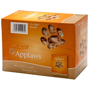 Cheap Applaws Chicken with Pumpkin Pouch 12 x 70g