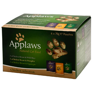 Cheap Applaws Chicken Selection Pack Pouch 6 x 70g