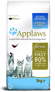 Cheap Applaws Kitten Dry Cat Food Chicken 2kg