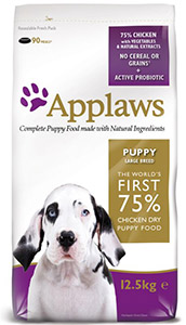 Cheap Applaws Large Breed Puppy Chicken 12.5kg